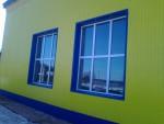 Фасад дома, профнастил