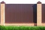Забор металлопрофиль 3
