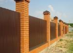 Забор металлопрофиль 5